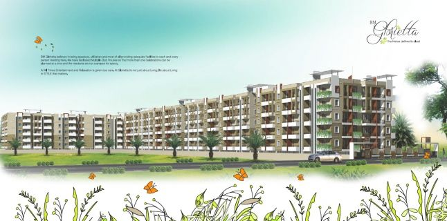 DiscountedFlats offers Group Buying Deals for flats in BM Glorietta. All types of residential properties in BM Glorietta including 1BHK, 2BHK, 3BHK Flats.