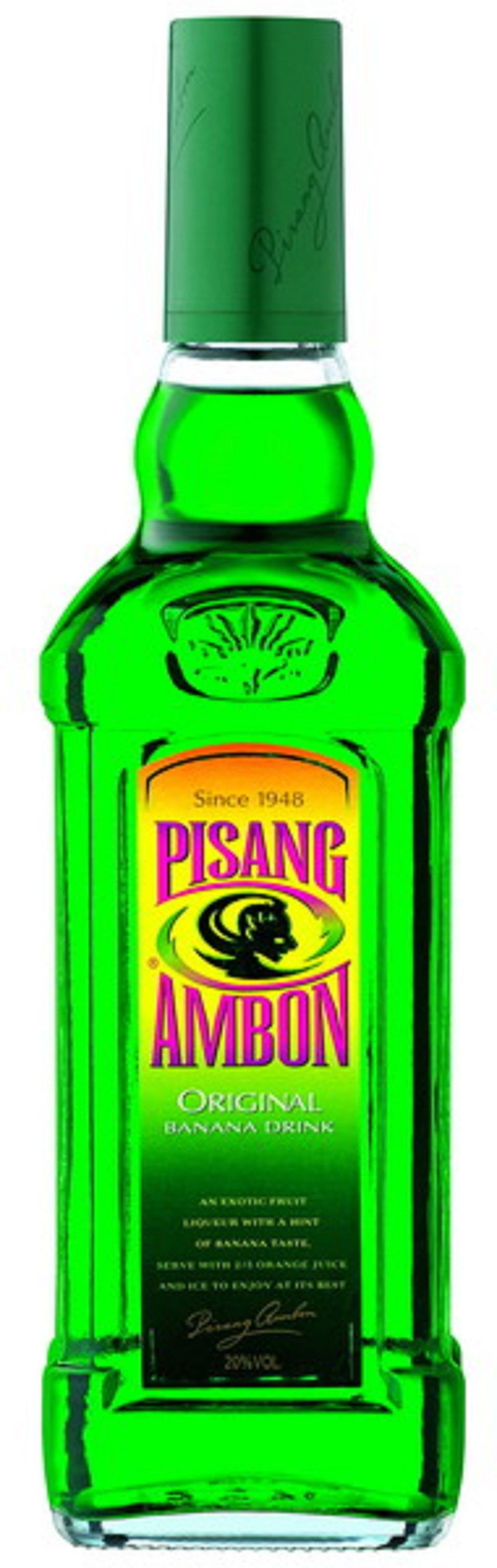 Who would have thought of a banana flavored liqueur well for Cocktail pisang