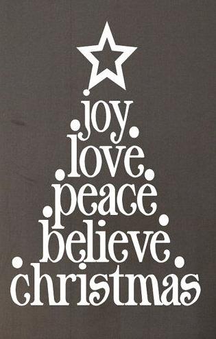 Interesting Christmas Tree Made Of Short To Long Words Christmas Signs Christmas Time Christmas Joy