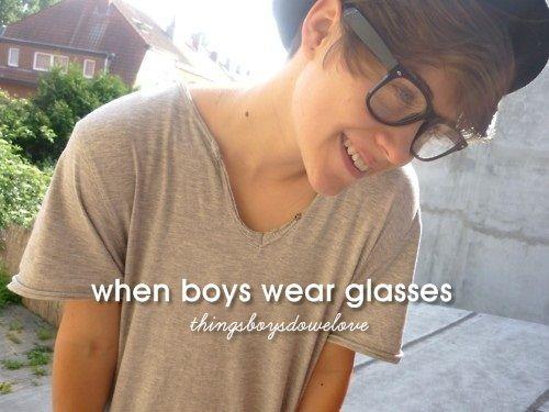 When Boys Wear Glasses