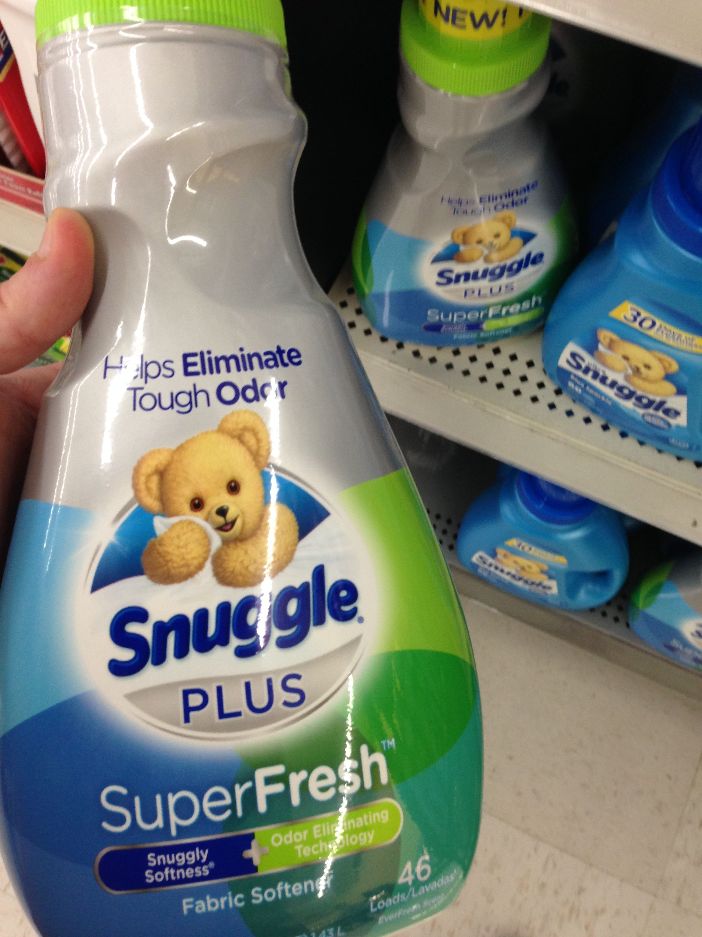 I finally found Snuggle plus super fresh at walmart!
