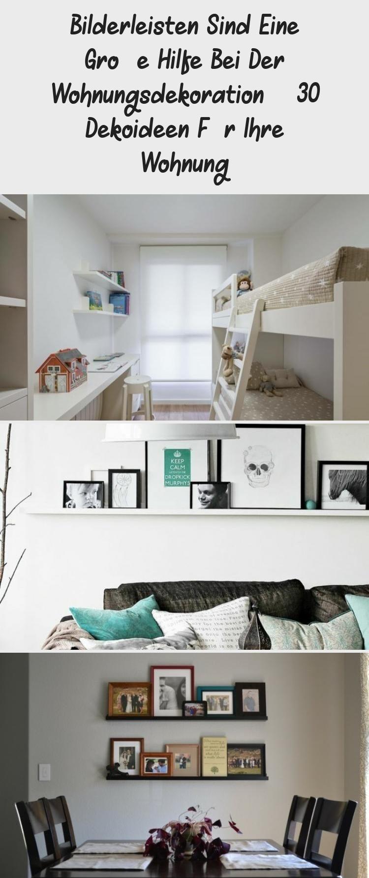 Bilderleisten Sind Eine Grosse Hilfe Bei Der Wohnungsdekoration 30 Dekoideen Fur Ihre Wohnung Saloncomedor Fotowand Bilderwand Livin In 2020 Home Decor Home Decor