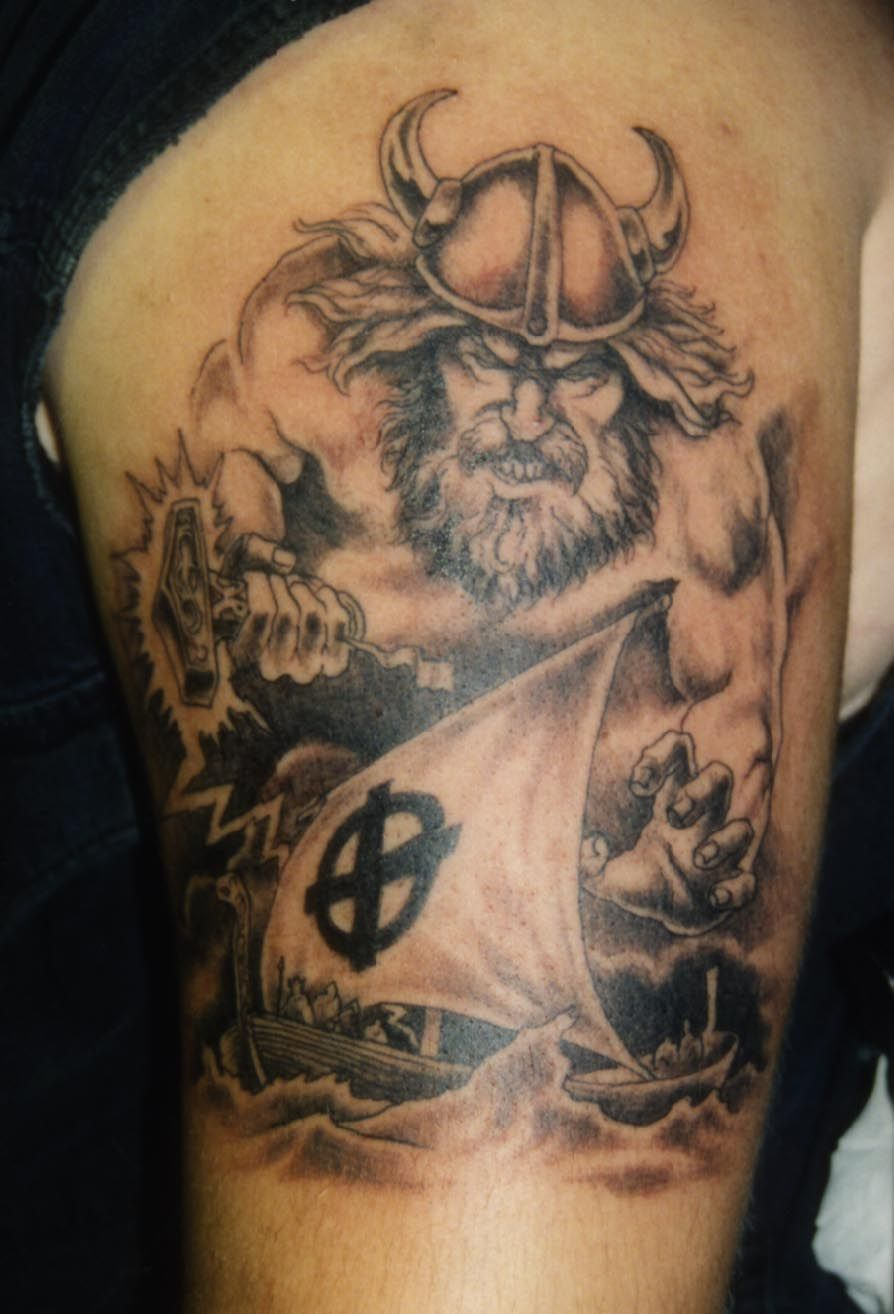 Viking/celtic warrior tattoos, There are strong norse
