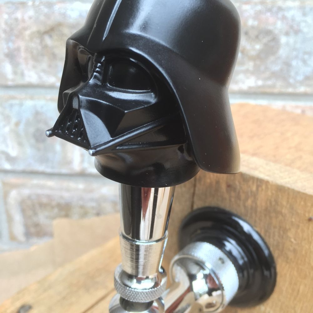 Beer Tap Handle Darth Vader draft beer tower faucet star wars