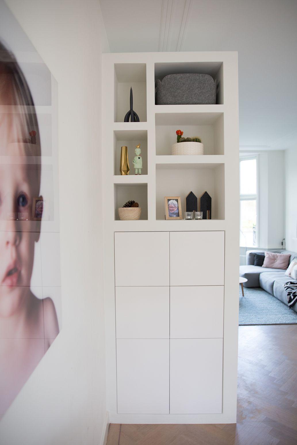 Inbouwkast woonkamer | woonkamer inspiratie | Huis | Pinterest ...
