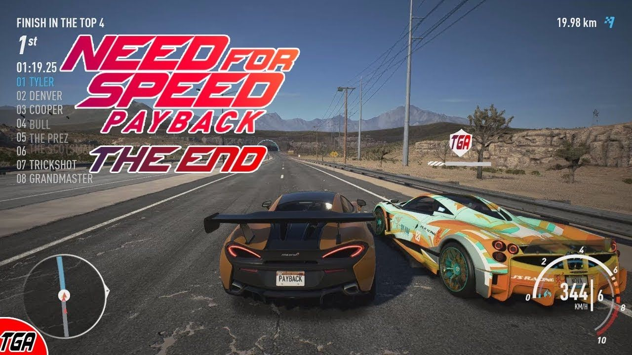 Need For Speed Payback Final Story Mission Final Race Gameplay