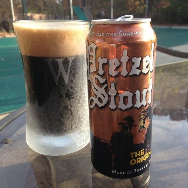 Pretzel Stout from TX\u0027s Martin House Brewing Co Beer! Pinterest