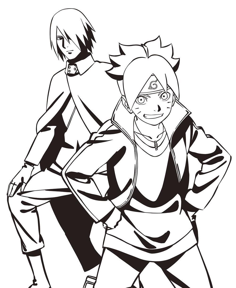 Pin by Breanna Monique on Narutoverse Anime, Boruto
