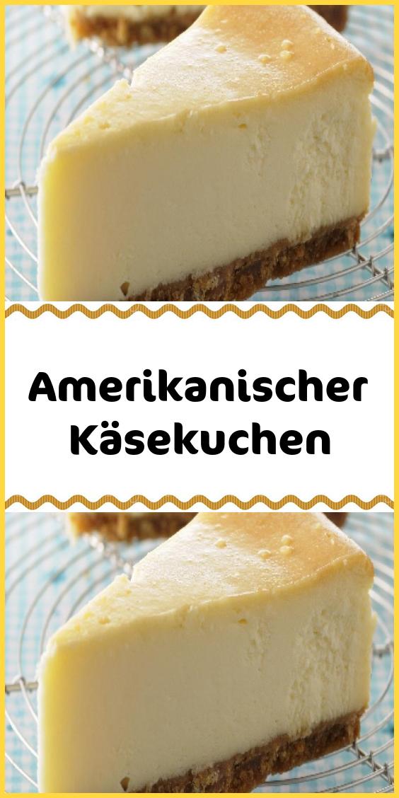 Amerikanischer Käsekuchen