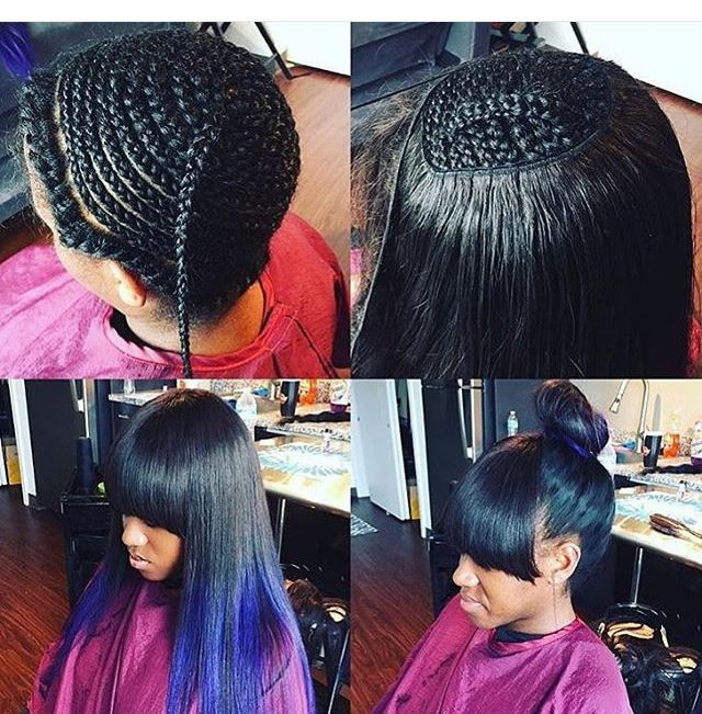 how to style your hair for an the 25 best sew in braids ideas on sew in 3181