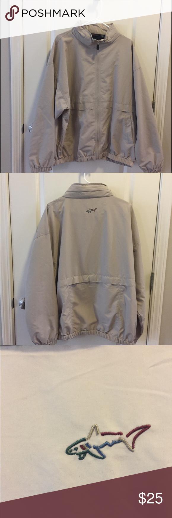 Men S Xl Greg Norman Jacket Jackets Shirt Jacket Greg Norman