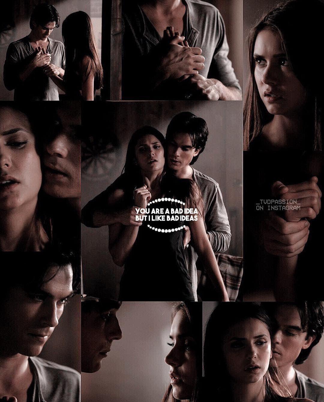 vampyr dagbøger laver Elena med Damon
