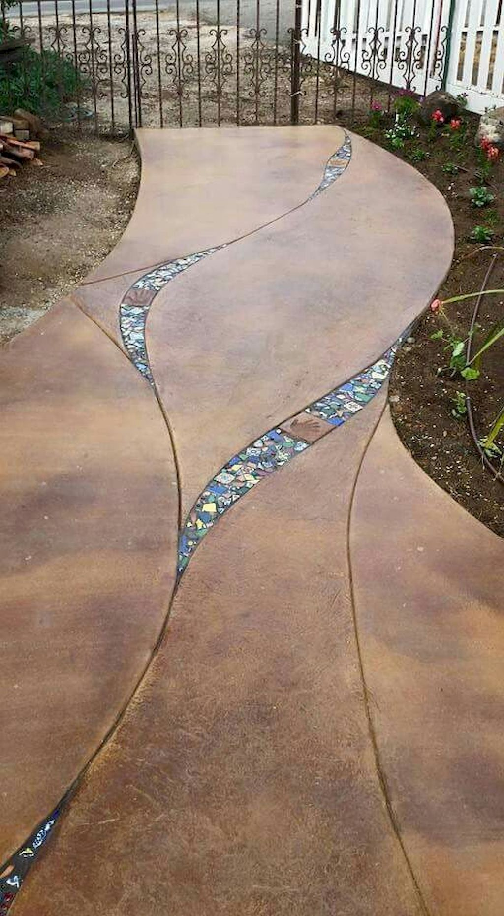 Photo of 73 günstige DIY Garden Paths Design-Ideen