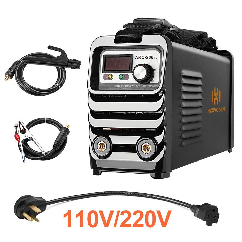 HZXVOGEN ARC Welder Inverter Dual Volt 110//220V MMA Stick ARC Welding Machine