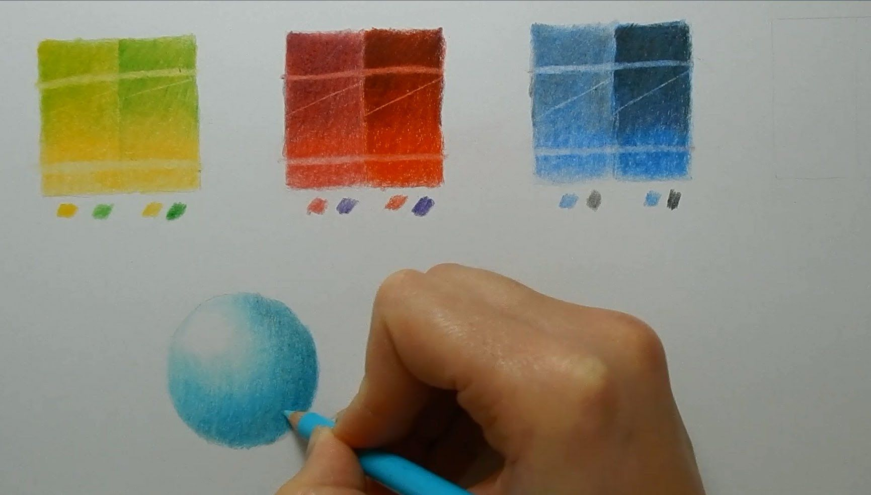Faber Castel Polychromos Vs Caran D Ache Luminance Colored Pencil