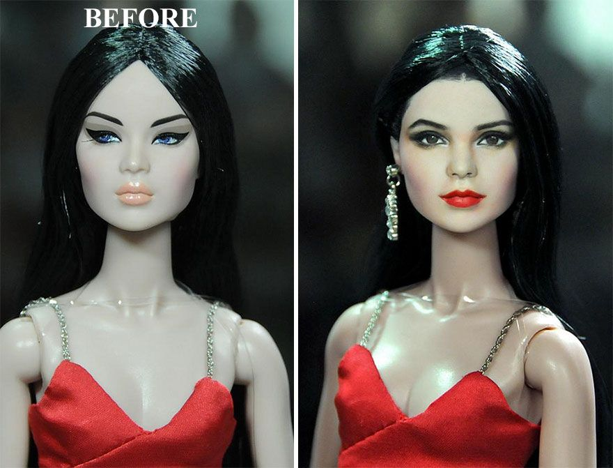 hot sale hot sales outlet online Artist Repaints Mass-Produced Dolls To Make Them Look More ...