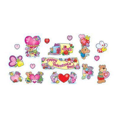 Carson Dellosa Publications Mini Valentines Day Bulletin Board Cut Out Set