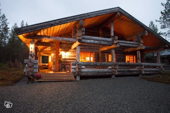 Luxury log cabin, Ruka Finland