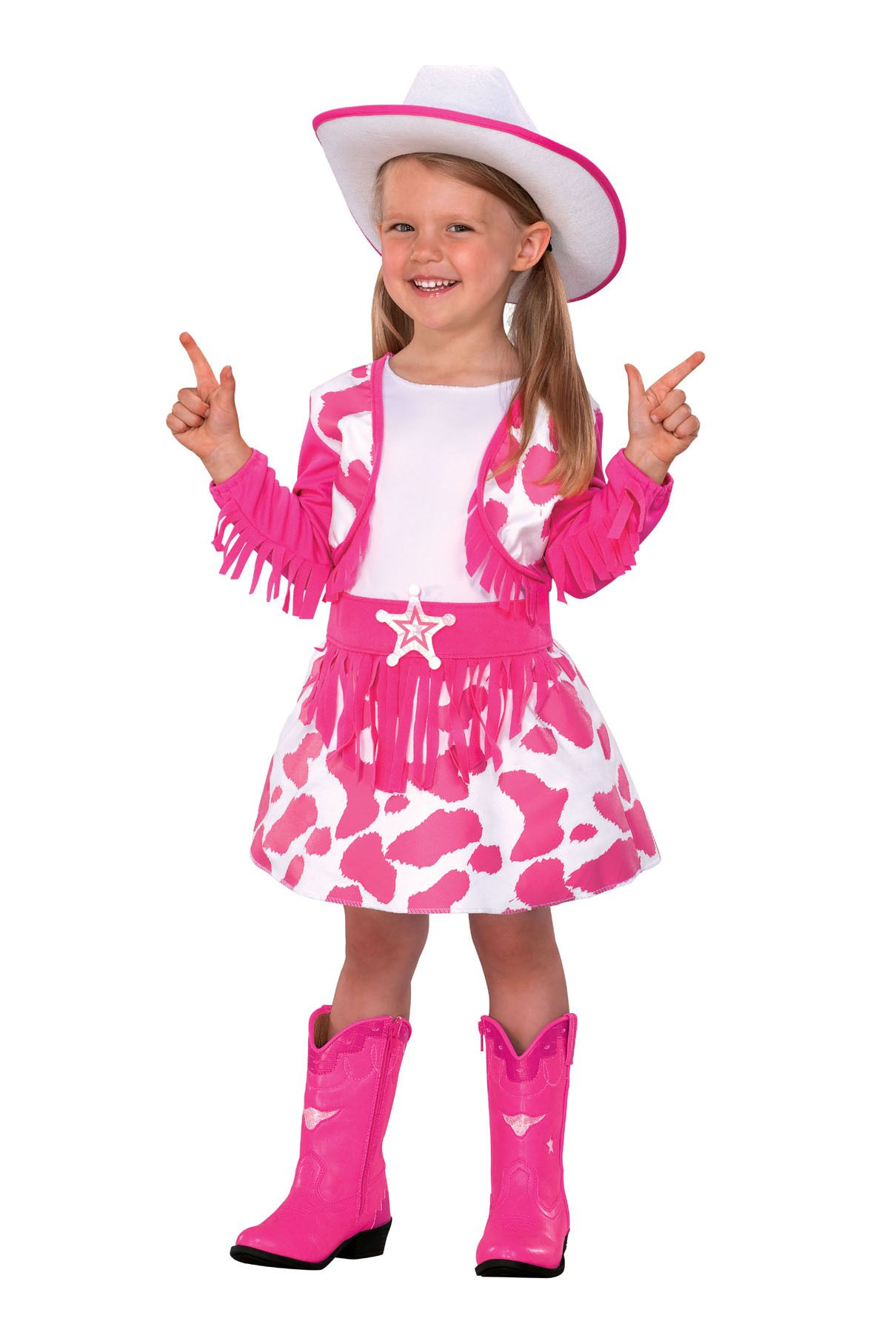 Halloween Costumes pink handsome cowboy Costumes Toddler