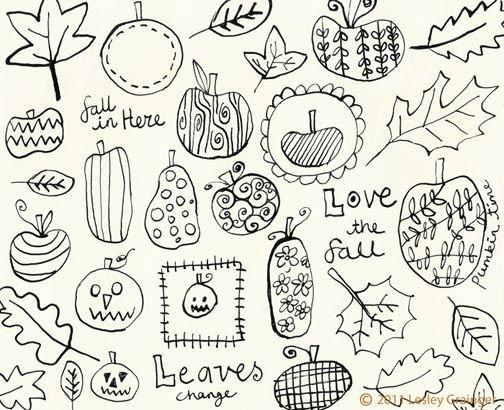 Fall Doodles