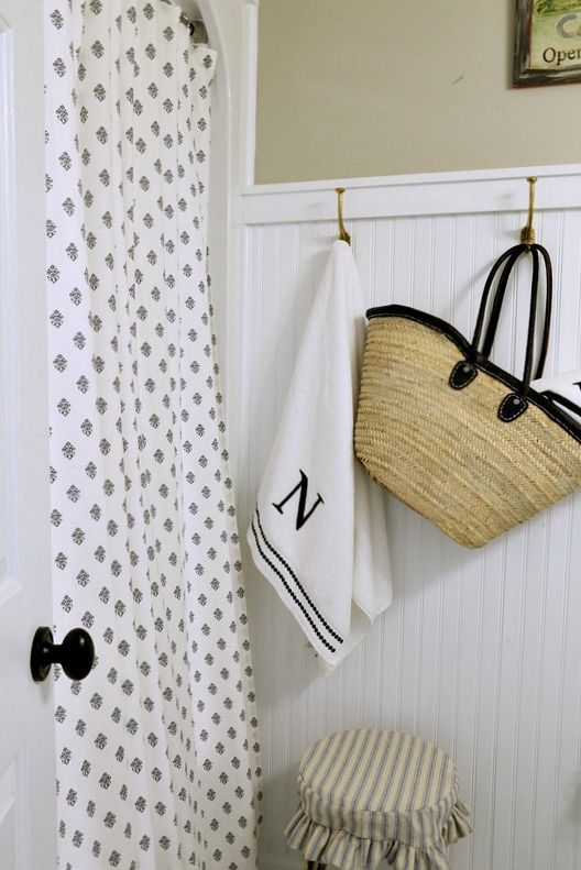 Farmhouse Bath Shower Curtain