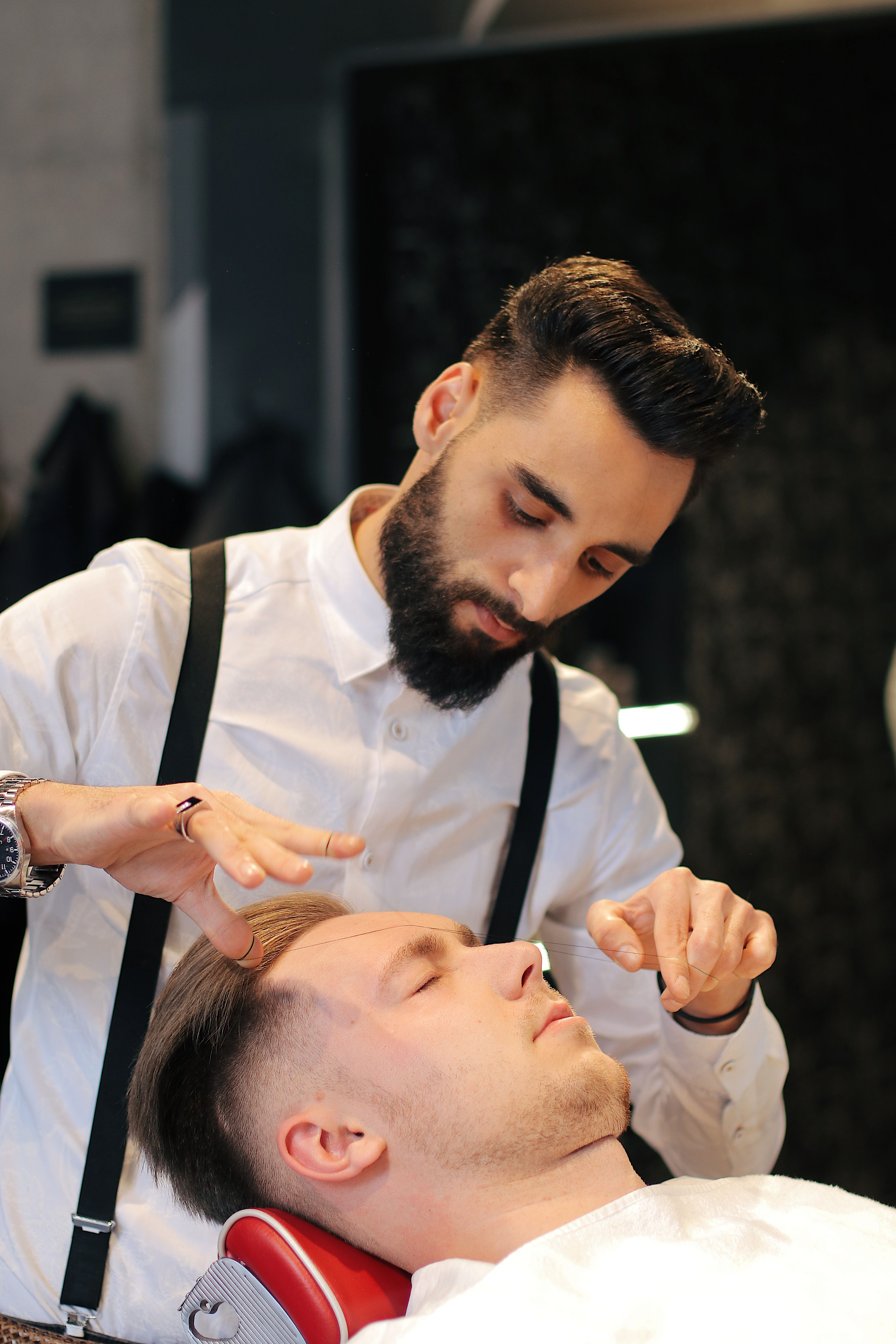 Ted S Master Barbers Brow Grooming Goal Is To Ensure A Clean Look