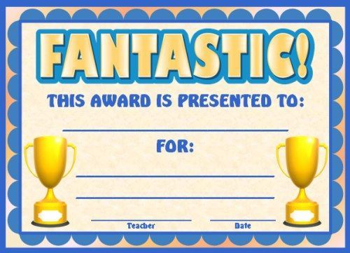 School awards templates fieldstation yelopaper Gallery