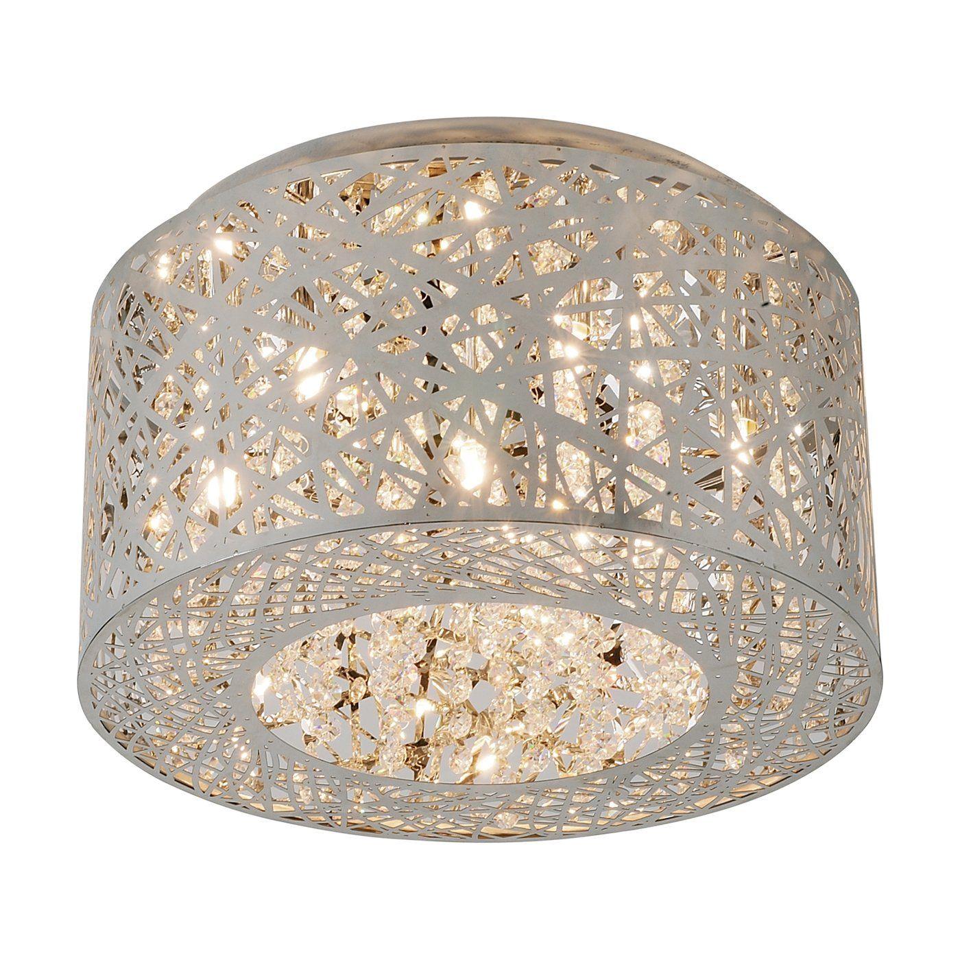 Raum mit lichtern et lighting epc  light inca flush mount ceiling light