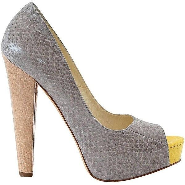cheap enjoy Brian Atwood Peep-Toe Semi D'Orsay Pumps free shipping Inexpensive eastbay sale online FnNMY05