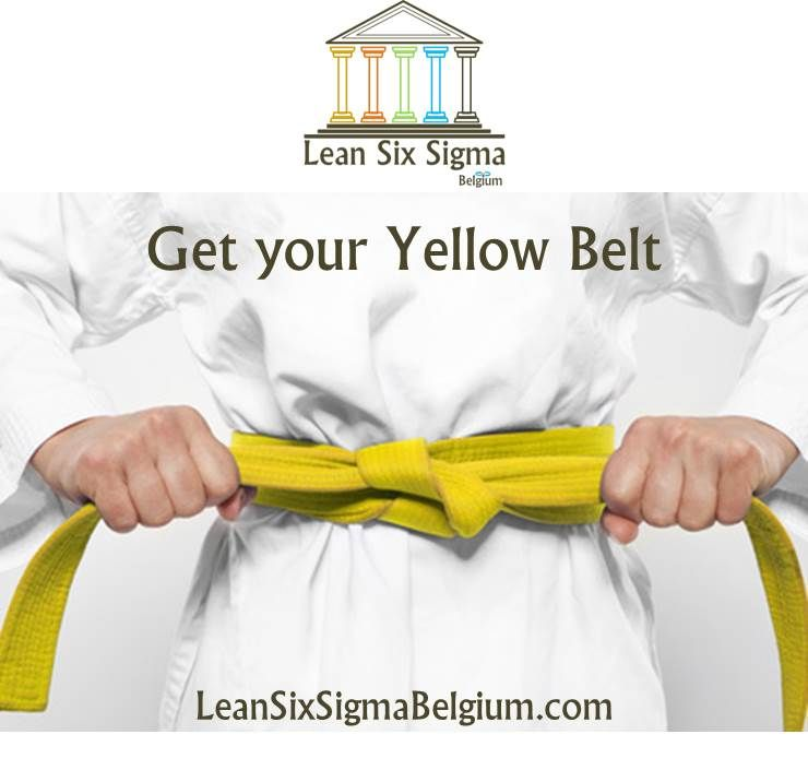 Lean Six Sigma Yellow Belt Training Belgium Lean Six Sigma Belgium