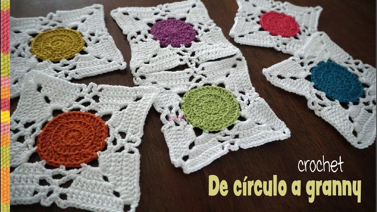 Pin en Gran y squares crochet