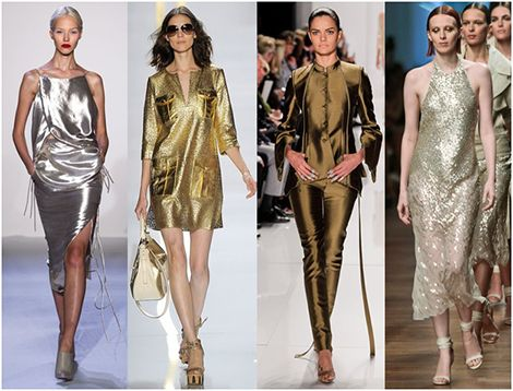 It's Shimmery this week! AMY QUOTB brings you an all new trend in this week's Spotted Out & About. #Trends #Fashion #Celebrities