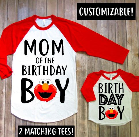 Mommy and me- Elmo version, Elmo birthday shirt, Elmo birthday party, Elmo matching, Elmo theme, baby boy birthday, Mom of elmo, Elmo family