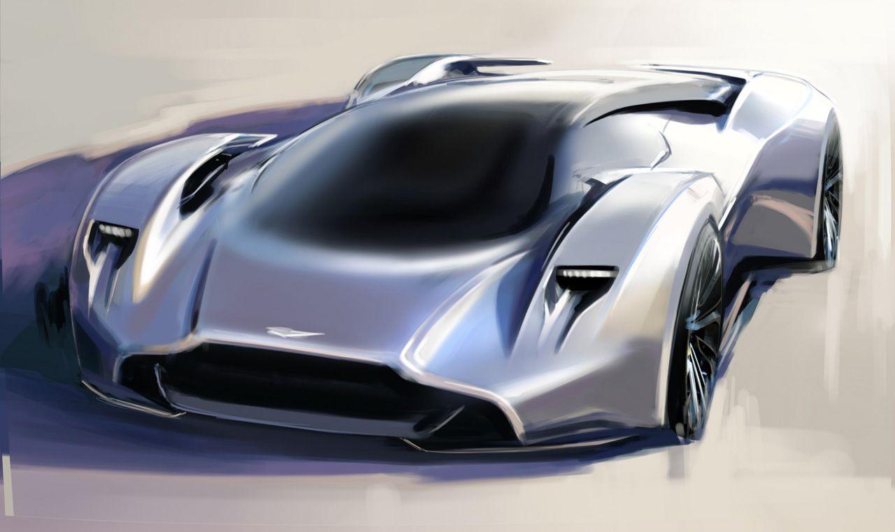 El Aston Martin Design Prototype 100 se une a la plantilla de coches ...