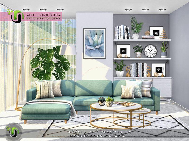 NynaeveDesign s Mist Living Room