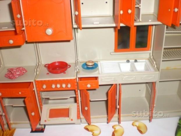 cucina per bambole galletti galba - anni-70   serie milady ...