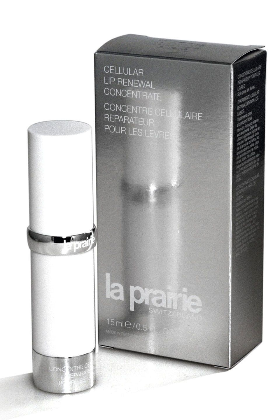 La Prairie Cellular Lip Renewal Concentrate Beyond The Rack Cosmetic Design Philosophy Skin Care Packaging Design