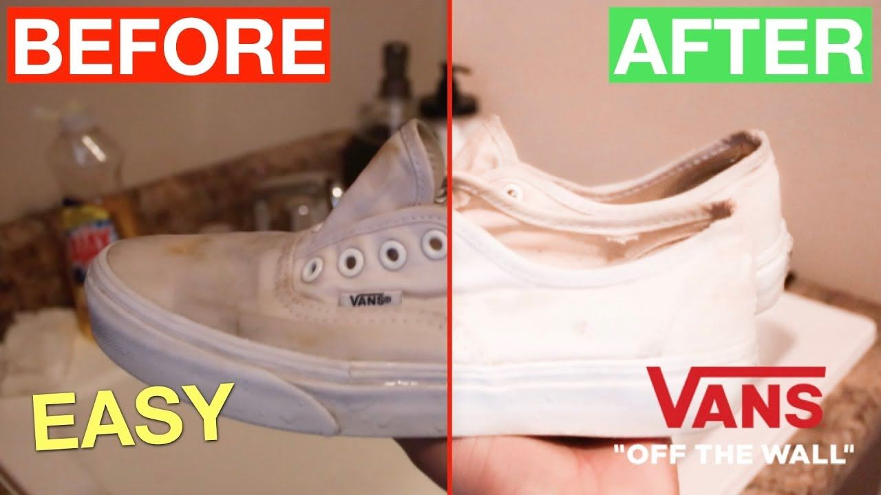 to clean white shoes, White canvas shoes
