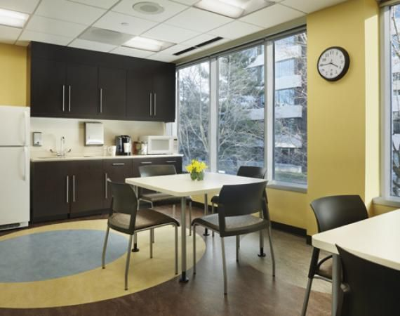 Employee break room design google search new office for Office lunch room design ideas