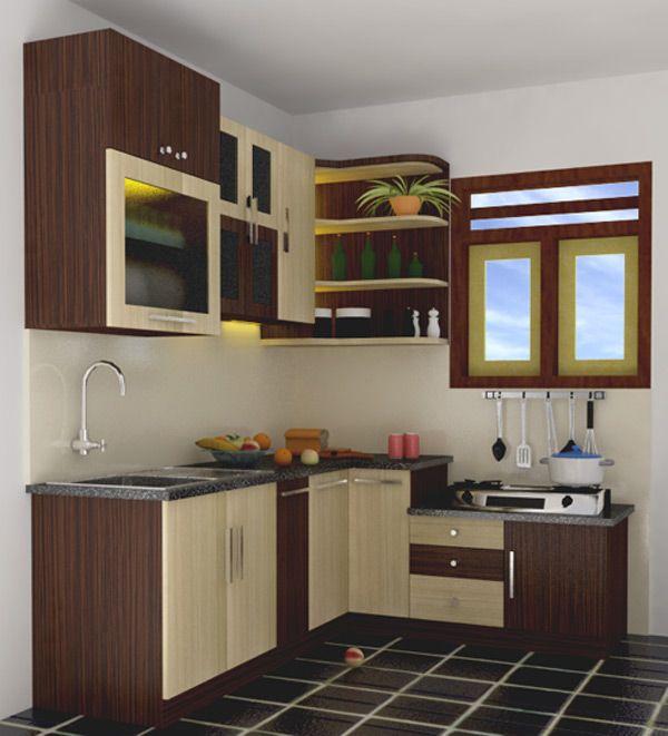 Cara Membuat Dapur Yang Kecil Terlihat Besar