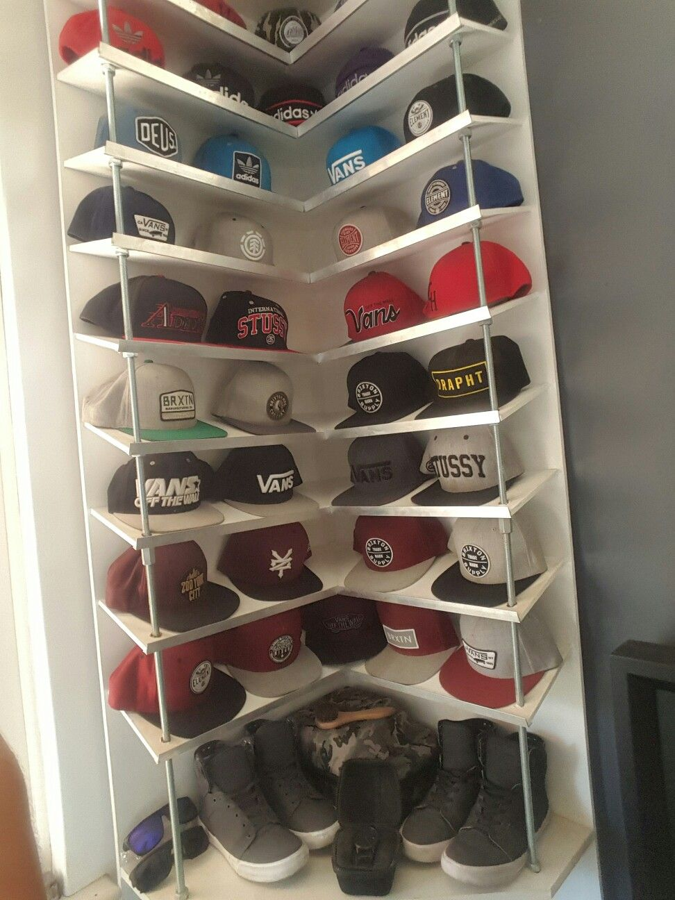 Hat rack sakbe pinterest
