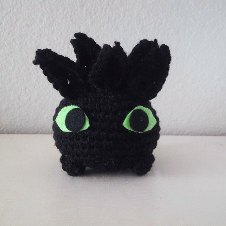 Toothlish An Oddish And Toothless Mash Up Base Pattern By Knot Bad