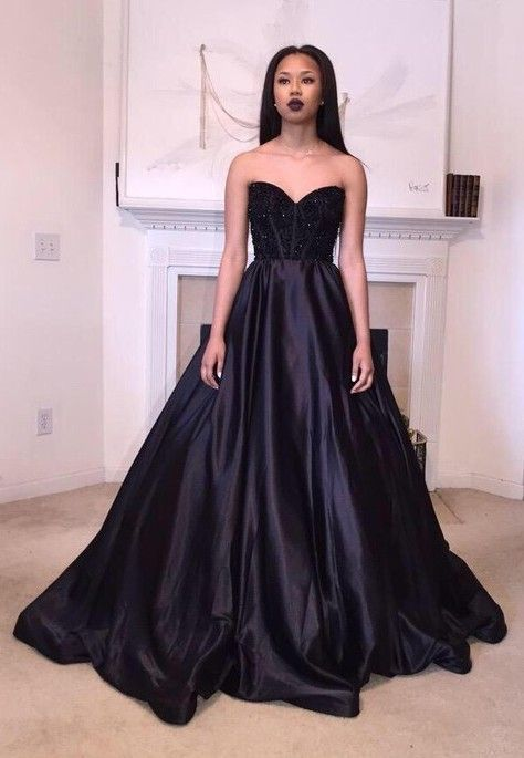348701f5f77 prom Dresses Ball Gown Sweetheart Satin with Beading