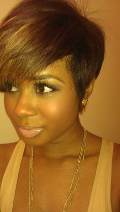 Short Flat Iron Hairstyles Amusing Flatiron Tapered Natural Hair  Google Search  Natural Beauty