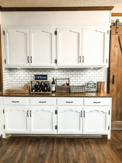 DIY Kitchen Cabinet Makeover Idea on a Budget (With images ...