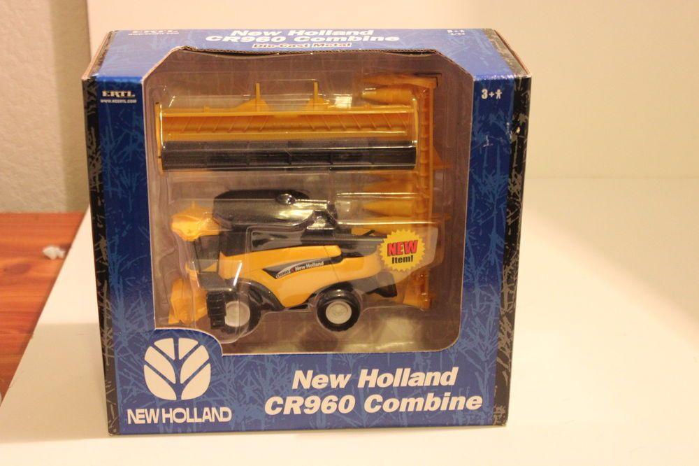 Ertl 1 64 New Holland Cr960 Combine Nib Case Ih Cnh Corn And Grain