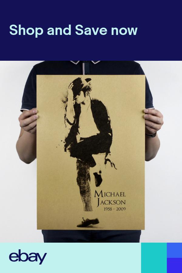 Michael Jackson Wall Poster Kraft Paper Wallpaper Decorative