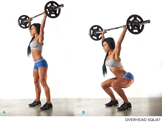 Raise The Bar: How To Master The Overhead Squat | Squat, Raising ...