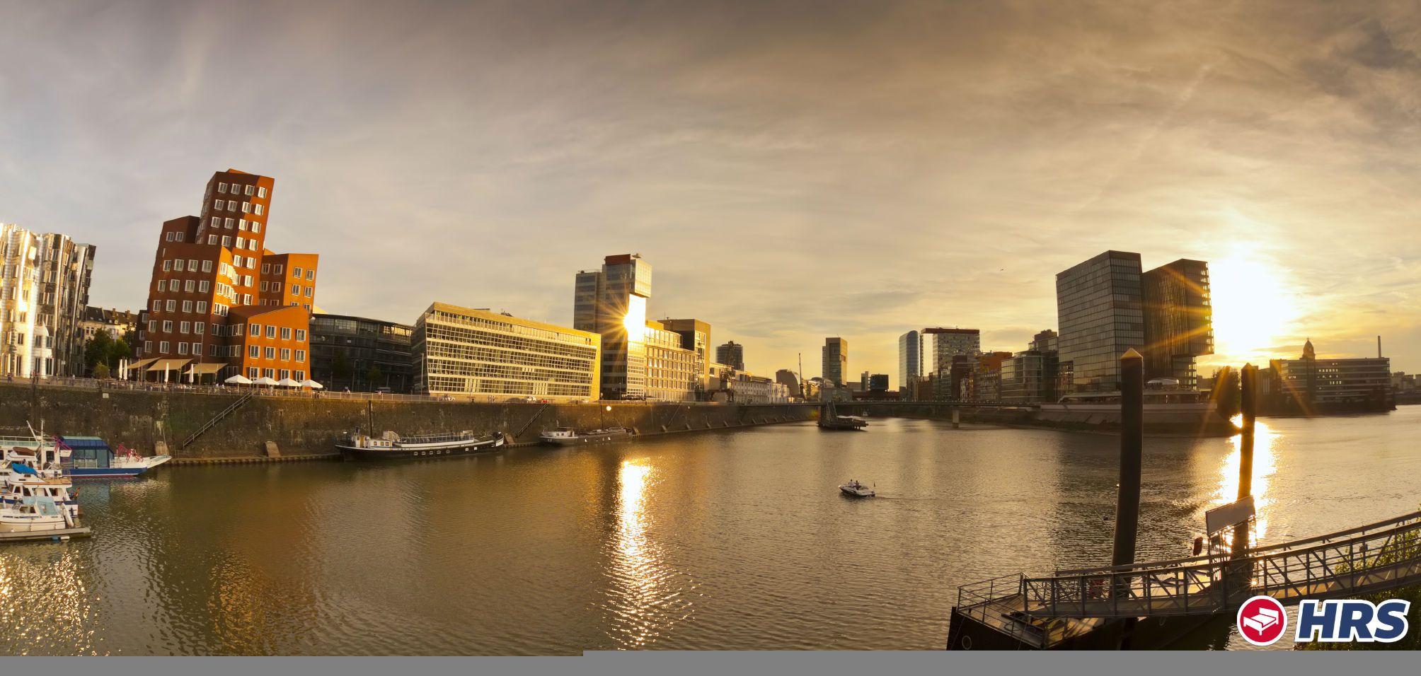 Entdeckt Düsseldorf , die Medienstadt am Rhein. Euer gut
