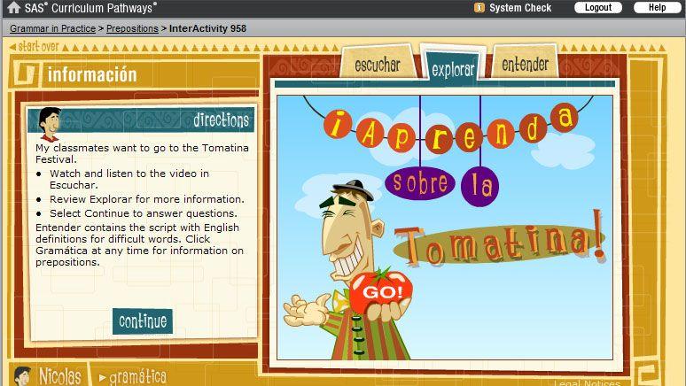 Layout spanish language primer spanish language